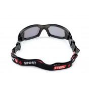 Steel Sport Fullsafe FS Siyah Sporcu Güneş Gözlüğü [11-17 Yaş Arası]